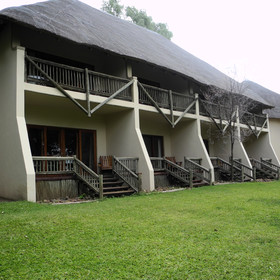 The lodge is situated in the town of Kasane in north east Botswana.