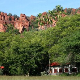 Waterberg Wilderness Lodge lies sheltered at the foot of the Wilderness plateau massif.