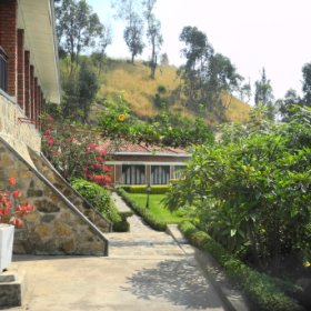 The Moriah Hill Resort is set on the shores of Lake Kivu....