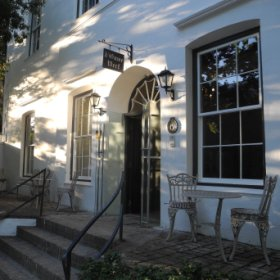Oude Werf Hotel set in Stellenbosch, one of the oldest inns in South Africa...