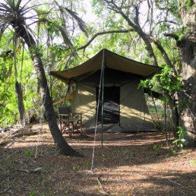 Fly-camping in Tanzania's Selous Game reserve takes you into real wilderness.