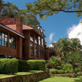 Ku Chawe Inn, atop the Zomba plateau, has fantastic views over Liwonde & the Shire River Valley