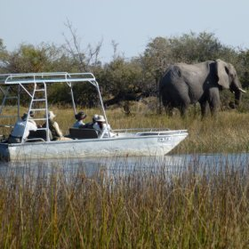 ...and boating are popular at Motswiri...