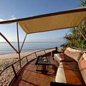 Saadani Safari Lodge is situated in the Saadani National Park on the Indian Ocean coast
