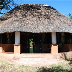 Kapani Lodge is situated just outside South Luangwa National Park.