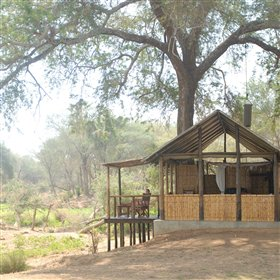 Old Mondoro is perhaps the only true bushcamp in the Lower Zambezi National Park.