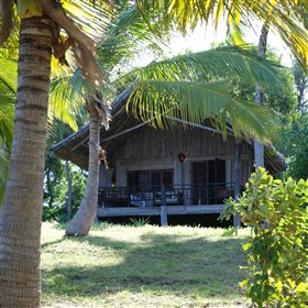 Pole Pole is a tiny, relaxed beach resort beside a sleepy beach on Mafia Island