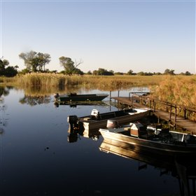 The lodge can only be reached by boat and most of the activities are water based.