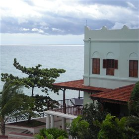 The Serena has one of the best locations in Stone Town...