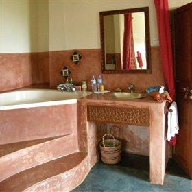Each of the room has its own en-suite bathroom…