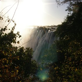 … or take a walk to visit the spectacular Victoria Falls...