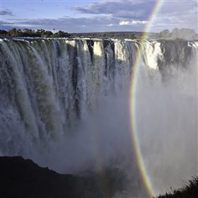 While staying at the lodge, guest can visit the spectacular Victoria Falls...