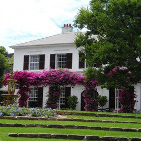 The Vineyard Hotel is high-quality and has lovely surroundings...