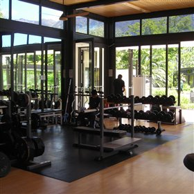 For those who wish to stay active there is a fully equipped gym