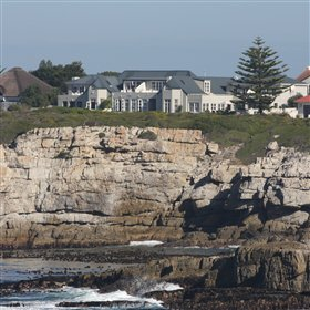 Ocean Eleven is situated at the coast of Hermanus in South Africa.