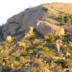 Erongo Wilderness Lodge sits amongst huge granite whalebacks and boulders in the Erongo Mountains.