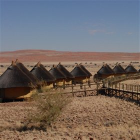 Sossus Dune Lodge is the only lodge inside the Namib Naukluft NP...