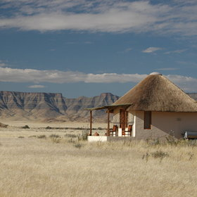 Desert Homestead is situated in a stunning location...