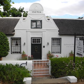 Rothman Manor stands in Swellendam in the heart of South Africa's Overberg Region...