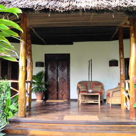 There are five homely villas at Anna of Zanzibar.