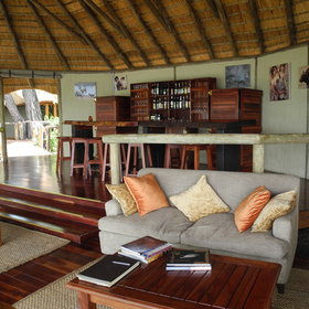 Guests are encouraged to help themselves from the bar and lounge on comfy seating.