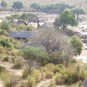 View map of Ruaha River Lodge