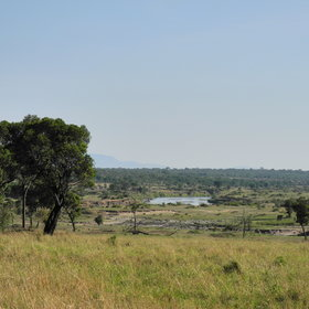 This photo was taken when the camp was by the Mara River