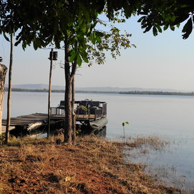 Musango Safari Camp is located on an island in Lake Kariba close to Matusadona National Park.