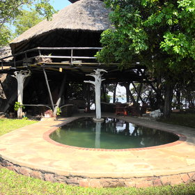 Musango also has a small pool in front of the main area - ideal for a dip in the heat of the day.