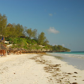 One of the main attractions is access to the pristine beach which stretches as far a you can see.