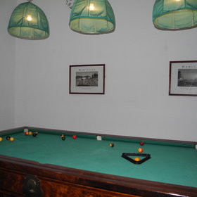 ...And there is also a pool table.