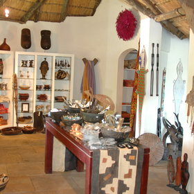 ...for those looking to take home some souvenirs of their time in Botswana!