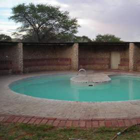 There is also a camp pool to relax by after a hard days game-viewing!