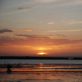 Watch the amazing sunset from Ibo Island Lodge, ..