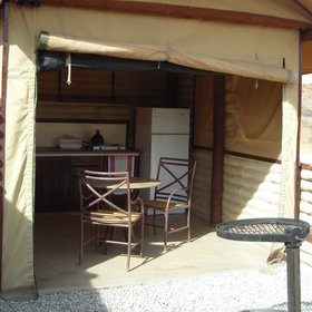 Kalahari Tented Camp is a self-catering accommodation...