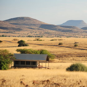 The Desert Rhino Camp is situated in the Palmwag Concession area…
