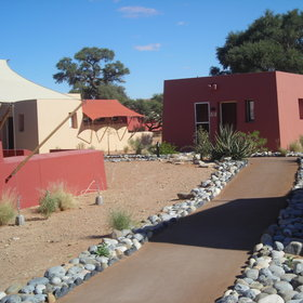 Sossusvlei Lodge has 45 tented chalets…