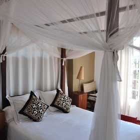 The rooms are simple yet very comfortable and traditionally styled….
