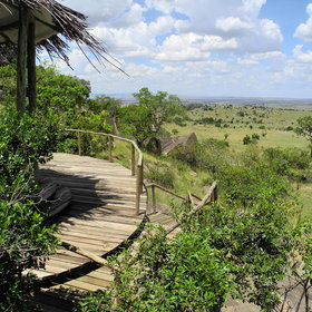 Lamai Serengeti Camp has some of the Serengeti's best views...