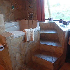...and some rooms do also have baths.