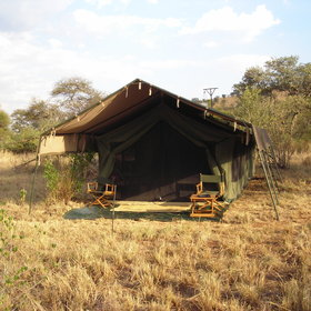 Nomad Serengeti Safari Camp is a classic, tented, mobile camp...