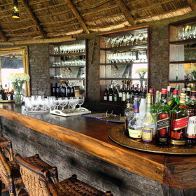 Enjoy some pre and post dinner drinks from the bar.