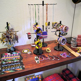 There is also a curio shop which is packed with African treasures!