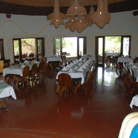 ...and a large, inside dining room.