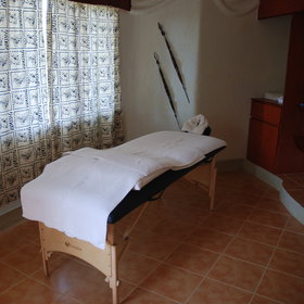 There is also a spa where guests can enjoy a massage and peace and quiet!