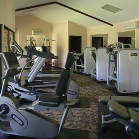You can also work out in the gym,…