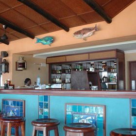 A short walk from the main areas is another bar and a marine activity centre...