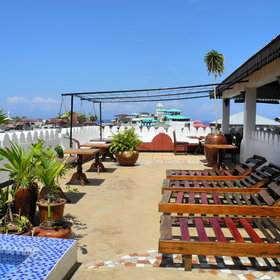 On the 5th floor, Swahili House has a spacious rooftop veranda...