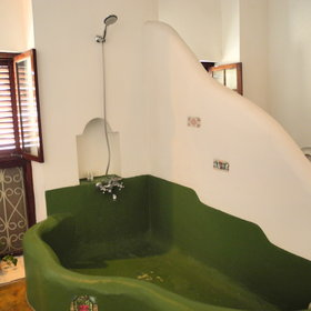 ...and some also have a bath tub.