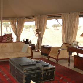 ...giving the camp a relaxed yet very stylish feel.
